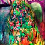 """""""Peacock Magic Garden of Eden"""" by GinetteCallaway"""