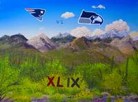 Superbowl Painting AZ