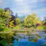"""Monets Garden"" by JohnRivera"