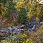 """Boulder Creek Autumn View"" by lightningman"