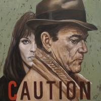 Caution Art Prints & Posters by Kevin Peddicord