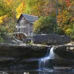 """Glade Creek Grist Mill Fall"" by Dullinger"