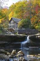 Glade Creek Grist Mill Fall