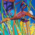 """Elegant Seahorse"" by TheRatsNest"