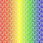 """Rainbow Zebra Pattern Print"" by ValeriesGallery"