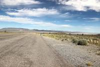 dry lake bed in Nevada