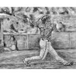 """JoshDonaldson11x14"" by RipleyDesigns"