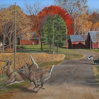 Crossing Over Art Prints & Posters by Roger Dullinger