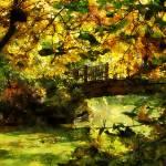"""Foot Bridge"" by susansartgallery"