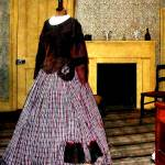 """19th Century Plaid Dress"" by susansartgallery"
