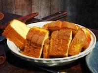 Plate With Sliced Bread and Knives