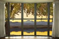 Rocky Mountain Golden Reflections Bay Window View