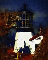 Cape Meares Lighthouse In Gothic