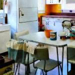 """Fifties Kitchen"" by susansartgallery"