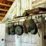 """Pots in Kitchen"" by susansartgallery"