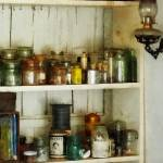 """Hurricane Lamp in Pantry"" by susansartgallery"