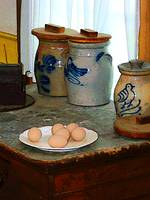 Brown Eggs and Ginger Jars