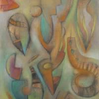 Protozoan Dance 2 Art Prints & Posters by Armen Kojoyian