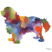 Cavalier King Charles Spaniel Art Prints & Posters by David Rogers