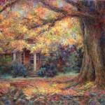 """Golden Autumn"" by susansartgallery"