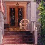 """Victorian Rocking Chair"" by susansartgallery"