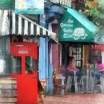"""Cafe Fells Point MD"" by susansartgallery"