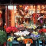 """Chelsea Flower Shop"" by susansartgallery"
