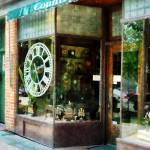 """Clock Shop"" by susansartgallery"