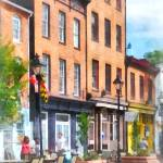"""Fells Point Street"" by susansartgallery"
