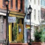 """Baltimore - Quaint Fells Point Street"" by susansartgallery"