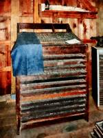 Type Case With Denim Apron