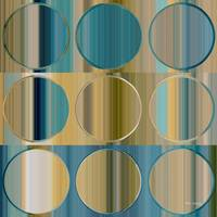 Circles and Squares 48 . Modern Abstract Fine Art