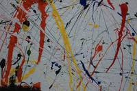 Abstract Paint Splatters