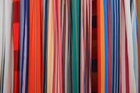Colorful Textiles in Hammocks