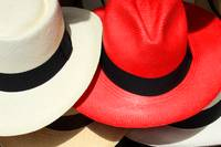 Red and White Hats