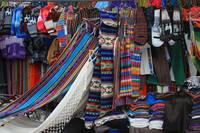 Textile Stall at the Craft Market