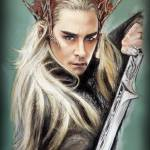 """Thranduil - The Hobbit"" by MelanieD"