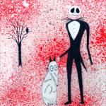 """Jack Skellington and Friend"" by LimeCreekArt"