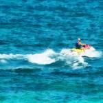 """Man Jet Skiing"" by susansartgallery"
