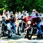 """Motorcycle Club"" by susansartgallery"
