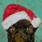 """""""Santa Pug"""" by creese"""