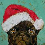"""Santa Pug"" by creese"
