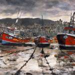 """Staithes at Low Tide"" by randysprout2004"