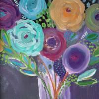 Le Fleurs Art Prints & Posters by Lisa Cohen