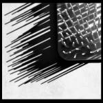 """Prickly Abstract Black and White"" by KsWorldArt"