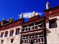 Songzanlinsi Monastery in Shangrila, Chin