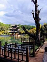 Dragon Pool Park, Lijiang, China