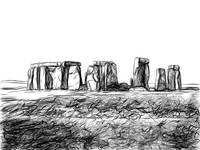 Famous Rock Group, Stonehenge, Wiltshire, England