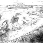 """Reef Teeth of Bora Bora Lagoon, French Polynesia"" by canvass22"