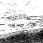 """Reefs of Bora Bora, French Polynesia"" by canvass22"